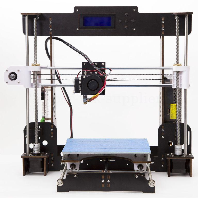 CTC A8 3D Printer High Precision Impresora 3D LCD Screen Aluminum Hotbed Extruder Printers DIY Kit Imprimante 3D Printer 1