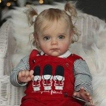Набор для творчества RBG 22 дюйма Maggi, Детская кукла-младенец, виниловая Неокрашенная НЕОБРАБОТАННАЯ игрушка, детали, LoL, подарок для девочек