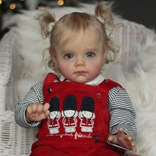 RBG-22 Pouces Maggi BRICOLAGE Blanc Kits Reborn Bébé Jouets En Vinyle Souple Non Peint Pièces Non Finies LoL fête des Mères Cadeaux Poupées Pour Les Filles