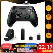 ข้อมูลกบ2.4G Wireless ControllerสำหรับXbox OneคอนโซลสำหรับPS3สำหรับโทรศัพท์Android Gamepadsจอยสติ๊กเกมสำหรับPC win7/8/10