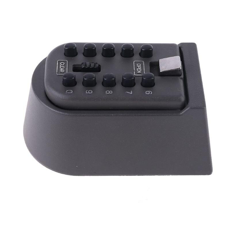 Outdoor Wall Mount Spare Key Safe Storage Box Waterproof Push Button Lock Holder