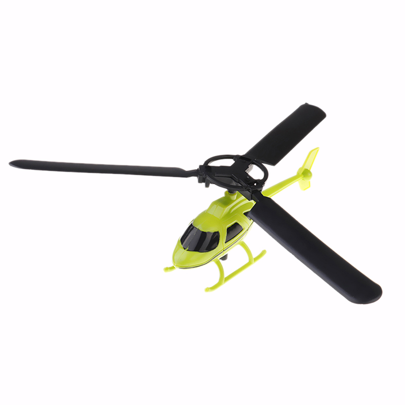Aviation Model Handle Pull The Plane Outdoor Toys For Children Play Helicopter