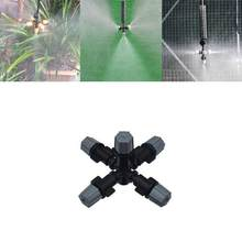 Verstoven Nozzle Zaailing Water Spuit Connector Irrigatie Dropper Tuingereedschap En Apparatuur Verstuiver 1pcs(China)