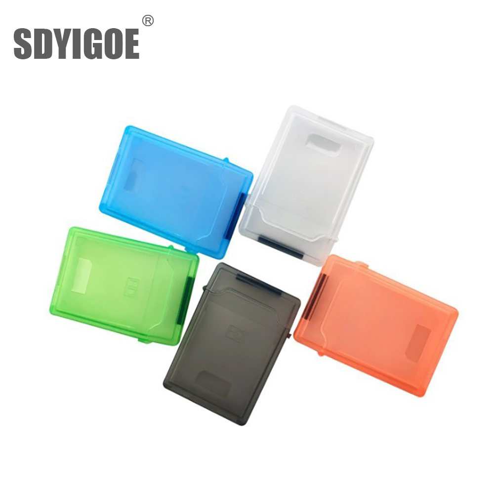Shockproof Plastic 3.5inch and 2.5 Inch IDE SATA External HDD SSD Protective Case 3.5