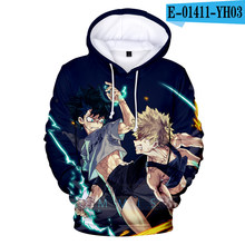 Classic Mijn Hero Academia Cosplay Todoroki Shoto Hoodies Sweatshirts Boku geen Hero Academia Izuku Midoriya Fleece Ki Coat(China)