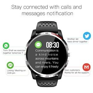 Image 3 - EKUPUZ ECG Smart Watch GPS Bluetooth Fitness Tracker Blood Pressure Heart Rate Monitor Call Reminder Message Push Smartwatch