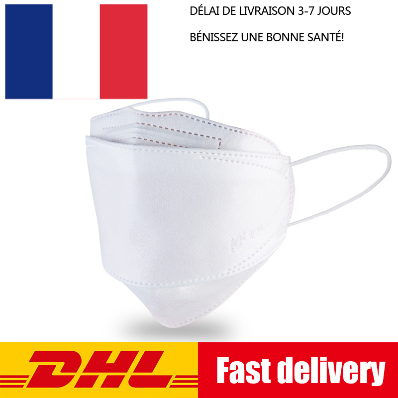 Fast Delivery KN95 Masque Facial Dustproof Anti-fog And Breathable Face Masks N95 Mask 95% Filtration Features As KF94 FFP2