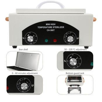 Professional High Temperature Sterilizing Cabinet Tool Manicure Nail Tool Dry Heat Sterilizer