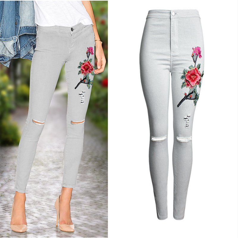Womens Ladies Casual Skinny Leg Jeggings Pencil Pants Stretchy Trousers Jeans US