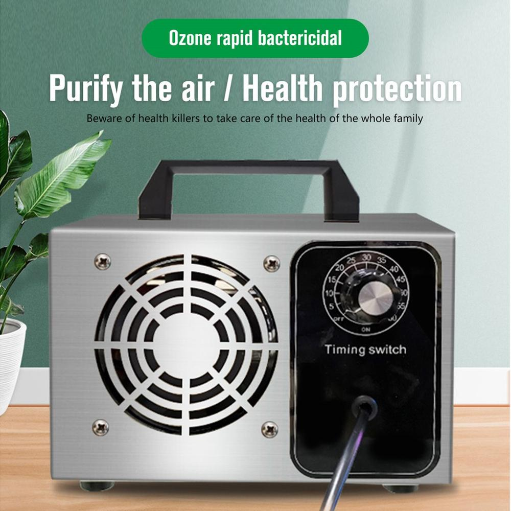 Ozone Generator 10/20/24/28g Ozone Machine Stainless Air Purifier Air Cleaner Disinfection Sterilization Cleaning Formaldehyde