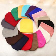 REAKIDS śliczne czapki dziecięce dla dziewczynek chłopcy zimowe miękkie noworodka czapki dzianina bawełniana dziecięce czapki dla dzieci czapki ciepłe czapki dla dzieci tanie tanio COTTON S9R1301030 Unisex 19-24 miesięcy Stałe Regulowany Baby Hats 0-2 years