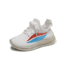 Autumn Girls Boys Casual Shoes Children Sneaker Comfortable Soft Bottom Students Sports Shoes Kids Breathable Knitted Shoes