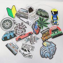 Diffuseur de voiture en papier solide   Désodorisant suspendu, vue arrière de voiture, roue de jante à Piston, accessoires intérieurs pendentif partie Robot japonais