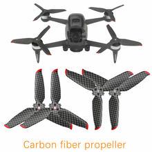 Para dji fpv hélice de fibra carbono duro e durável hélices de pouco peso 5328s dobrável baixo ruído adereços lâminas acessórios