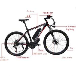 Image 1 - Smlro 48v 15A 350W 26 인치 모터 구동 전기 자전거 자전거 산악 차량 bicicleta electrica ebike