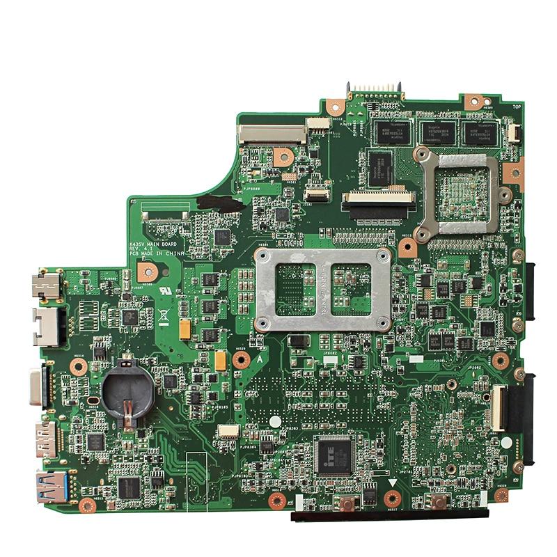 Original For ASUS K43SV K43S A43S P43S X43S K43SJ A84S K43SM P43SJ A83S laptop motherboard MB GT540M 1G REV:4.1 HM65 DDR3 1