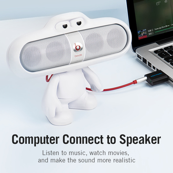 Vention USB Sound Card USB Audio Interface headphone Adapter Soundcard for Mic Speaker Laptop PS4 Computer External Sound Card 3