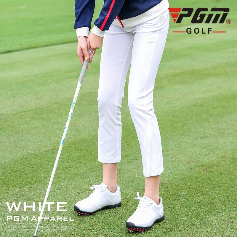 Pgm Golf Pants Mujer Alta Elastica Suave Pantalones Para Golfistas Jugar Pelota De Golf Senora Ropa Ninas Ropa Primavera Otono Nuevo Pantalones De Golf Aliexpress