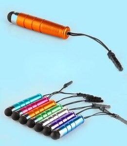 Hurtownie Mini Stylus ekran dotykowy prezent długopis z wtyczką przeciwpyłową dla Ipad Iphone dla pojemnościowy ekran telefon Tablet PC 5000 sztuk