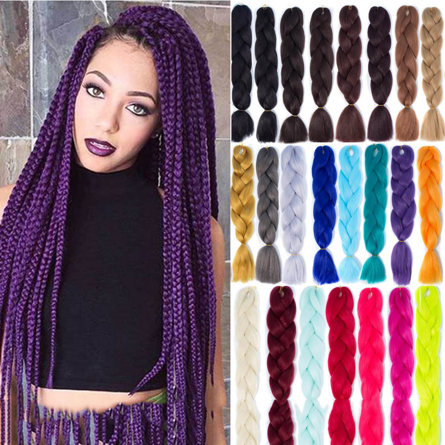 Dreadlocks Hair Rope Wig Male And Female Braid Headband African Hair Accessories Size Braids Color Rope Hair Extension Gradient