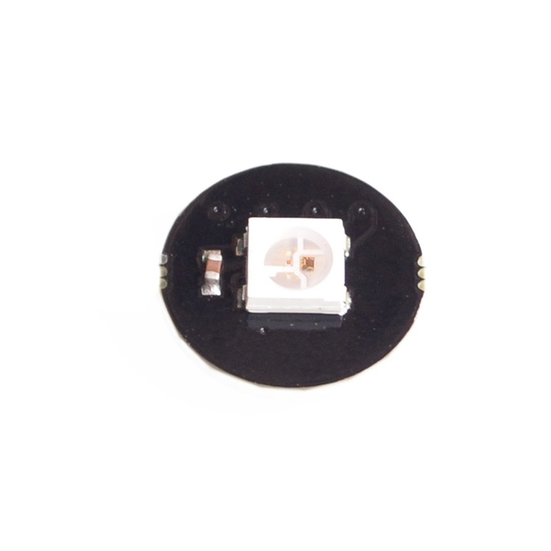 50pcs/lot 1 Bit WS2812 5050 RGB LED Built In Full Color Drive Color Lamp Development Board