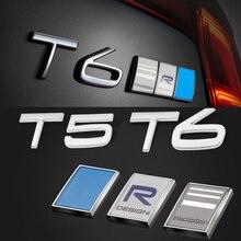 Металлическая Задняя Крышка багажника Стикеры для Volvo XC90 XC60 XC70 S90 S80 S70 S60 S40 V40 V60 V90 T4 T5 T6 R-DESIGN Polestar тюнинг аксессуары