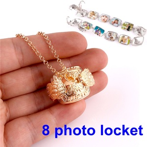mint green acrylic crystal beads gold alloy charm vintage chandelier pendant charms drop dangle earring for women(China)