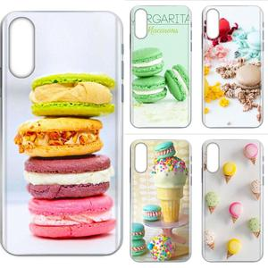 Dessert Ice Cream Laduree Macarons For Samsung Galaxy A10 A10S A20 A20S A20E A30 A30S A40 A40S A50 A50S S8 S9 S10 S20 Plus