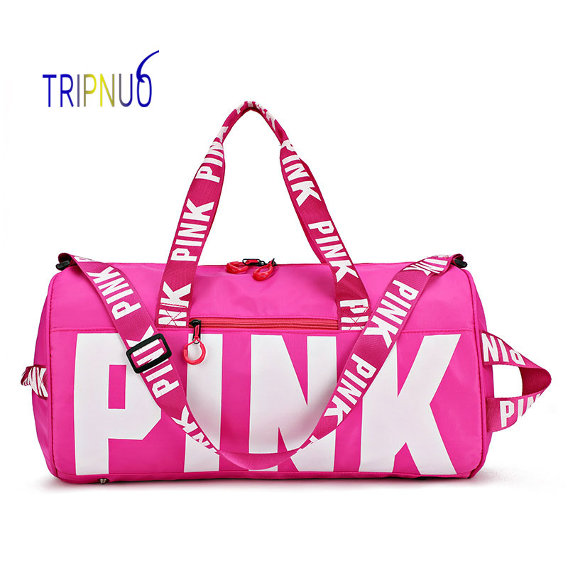 TRIPNUO Love Pink Men/Women Travel Bag Duffle Bag For Trip Waterproof Gym Bag Sport Bags For Fitness