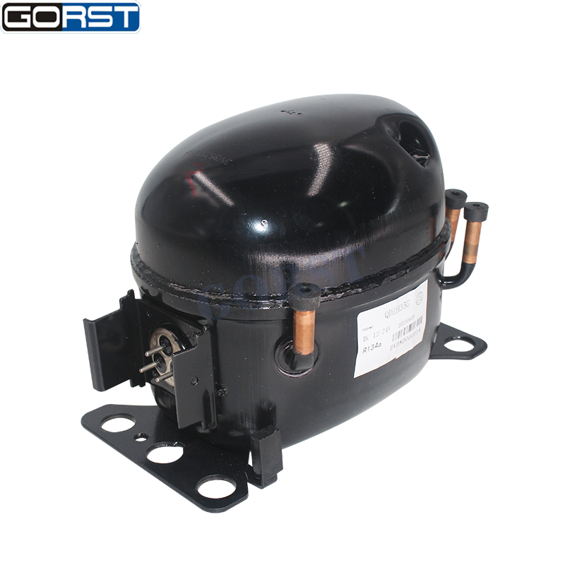 12V 24V DC Car Refrigeration Air Compressor Fridge Freezer Marine Solar QDZH35G R134a-11