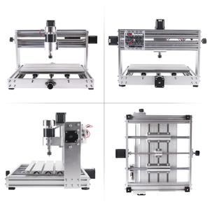Image 3 - CNC 3018 פרו מקס CNC חריטת מכונת GRBL שליטה עם 200w ציר DIY לייזר חרט 15w לייזר חריטה מכונת CNC נתב