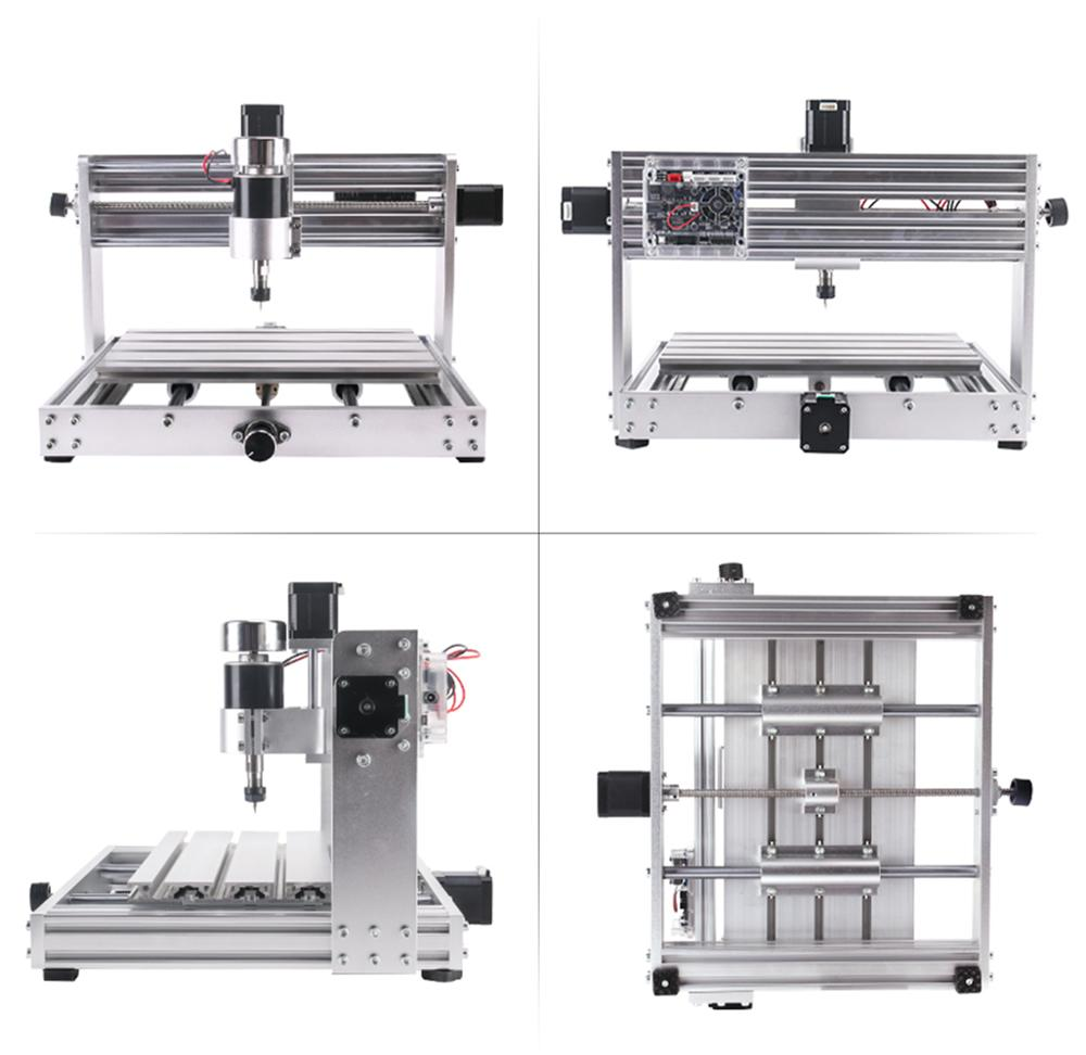 Image 3 - CNC 3018pro MAX Engraver GRBL Control with 200w Spindle,3 Axis PCB Milling machine,15w big power laser DIY Wood RouterWood Routers   -