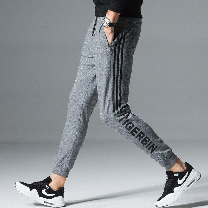 2019 MEN'S Casual Pants Spring New Style Korean-style Trend Slim Fit Trousers Skinny MEN'S Pants Athletic Pants