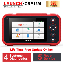 LAUNCH OBD2 Scanner CRP129i Code Reader Car Scan Tool Engine ABS SRS Transmission Diagnosis Tool OBD 2 Auto Scanner LAUNCH X431
