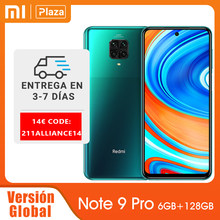 Xiaomi Redmi-Note 9 Pro, smartphone, Version Globale, 6GB+128GB, Snapdragon 720G, 33W charge rapide,5020mAh, NFC