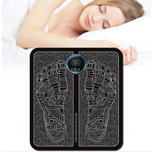 Electric EMS Intelligent Foot Massage Pad Mat Pulse Acupuncture USB Charging Improve Blood Circulation Relieve Ache Health Care