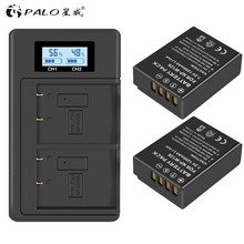 PALO LCD NPW126 Digitale USB charger + 2pc NP W126 NP W126s batteria della macchina fotografica per Fujifilm Fuji X100F XPRO1 X A1 HS50EXR XT1 X T2 X E1