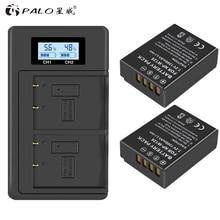 PALO LCD NPW126 USB Digital charger+2pc NP W126 NP W126s camera battery for Fujifilm Fuji X100F XPRO1 X A1 HS50EXR XT1 X T2 X E1