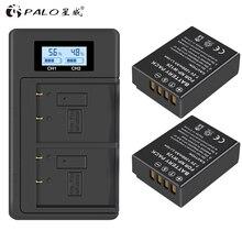 PALO LCD NPW126 cargador Digital USB + 2pc NP W126 NP W126s Cámara batería para Fujifilm Fuji X100F XPRO1 X A1 HS50EXR XT1 X T2 X E1