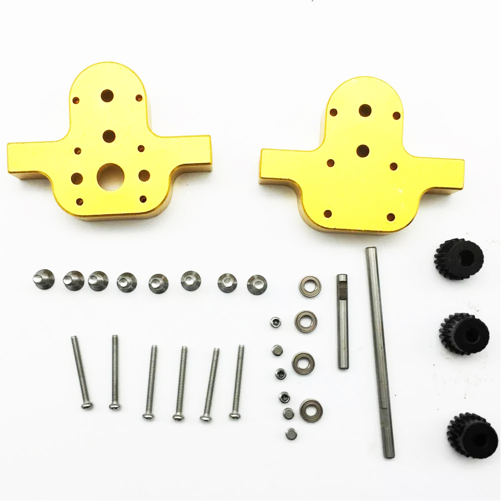 Transfer Gear Box Kit Accessories Without Motor DIY Six-drive Upgrade RC Car <font><b>Parts</b></font> Model Toys Modified Four-wheel For <font><b>JJRC</b></font> <font><b>Q65</b></font> image