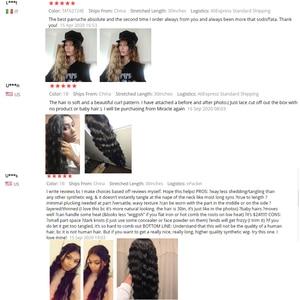 Image 3 - Nobre longo peruca preta onda profunda perucas da parte dianteira do laço para as mulheres negras 30 polegadas ombre loira marrom peruca dianteira do laço peruca sintética cosplay