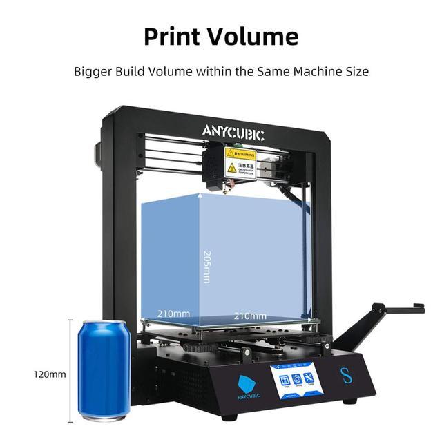 ANYCUBIC Mega-S Mega S 3D Printer I3 Mega Upgrade Large Size TPU High Precision Touch Screen DIY 3D Printer kit impressora 3d 4