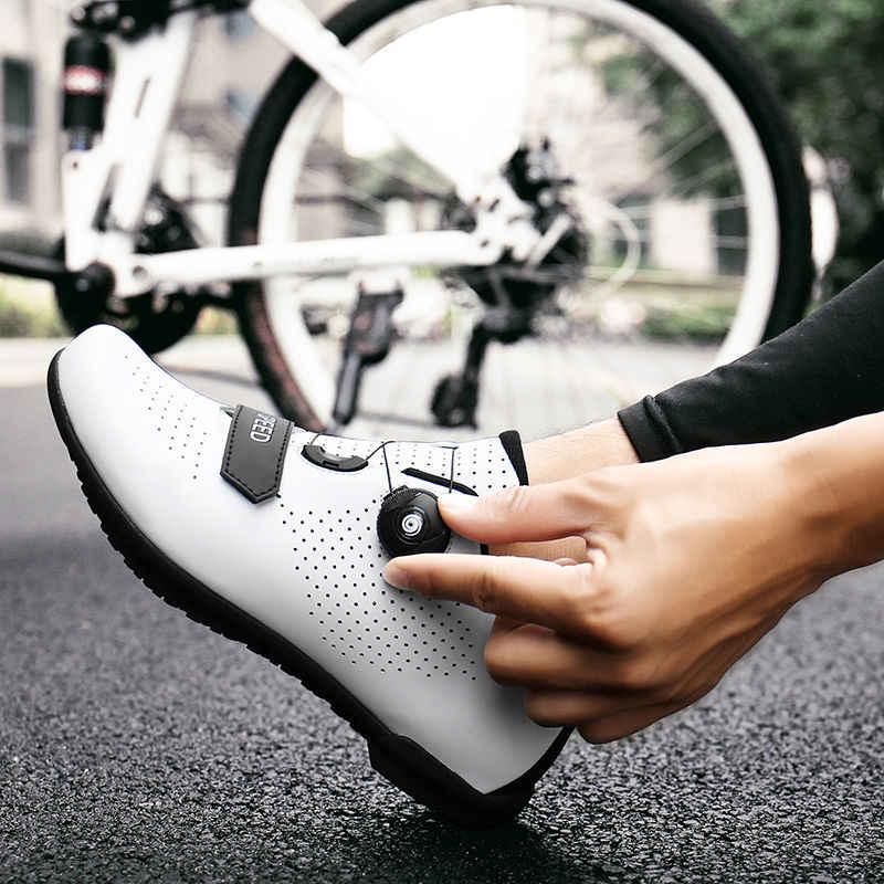 Mtb Professional Mountain Cycling Shoes Men Road Bicycle Racing Bike Sneaker Gym