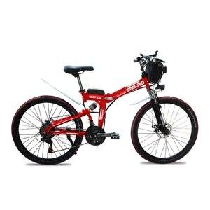 Высокое качество 48V 1000W складной электрический велосипед, велосипед из углеродистой стали, новый стиль, Электрический горный велосипед для ...