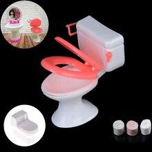 Nuevos muebles de casa de muñecas Vintage baño modelado de papel higiénico casa de muñecas miniatura bebé juguetes de simulación muñecas Accesorios