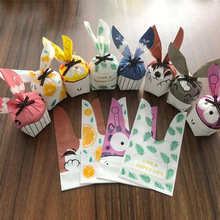 Rabbit Candy-Bags Biscuits Snack-Baking-Package Party-Supplies Christmas-Decoration Cute