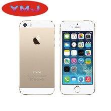 Apple-teléfono inteligente iPhone 5S desbloqueado, 16GB/32GB/64GB, iCloud, IOS, WIFI, reconocimiento de huella dactilar
