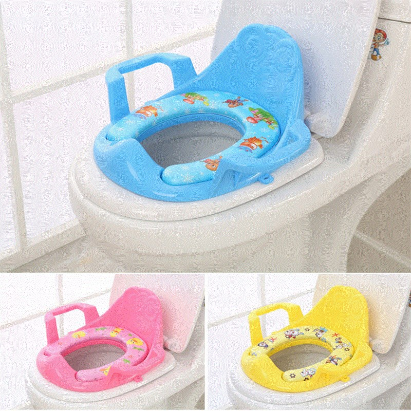 Shangyuan CHILDREN'S Toilet CHILDREN'S Toilet Seat Men And Women Baby Toilet Seat Toilet Mat Baby Toilet With Padded