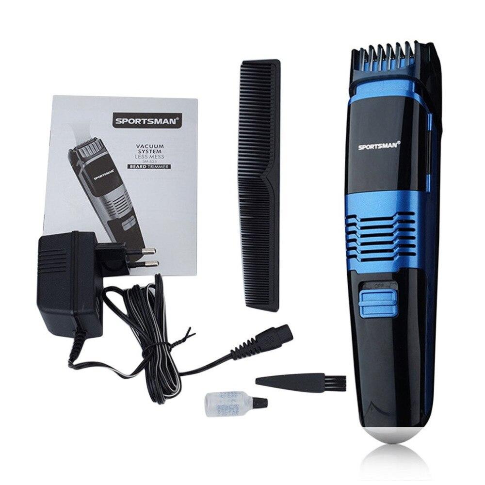 Ev Aletleri'ten Saç Kesme Makineleri'de SM 625 çok fonksiyonlu elektrikli saç düzeltici şarj edilebilir saç kesme saç kesimi sakal giyotin Razor yetişkin erkekler için LED ekran title=
