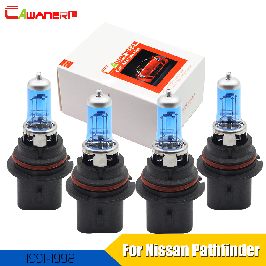 Fits Nissan Navara D40 100w Super White Xenon HID High//Low Beam Headlight Bulbs